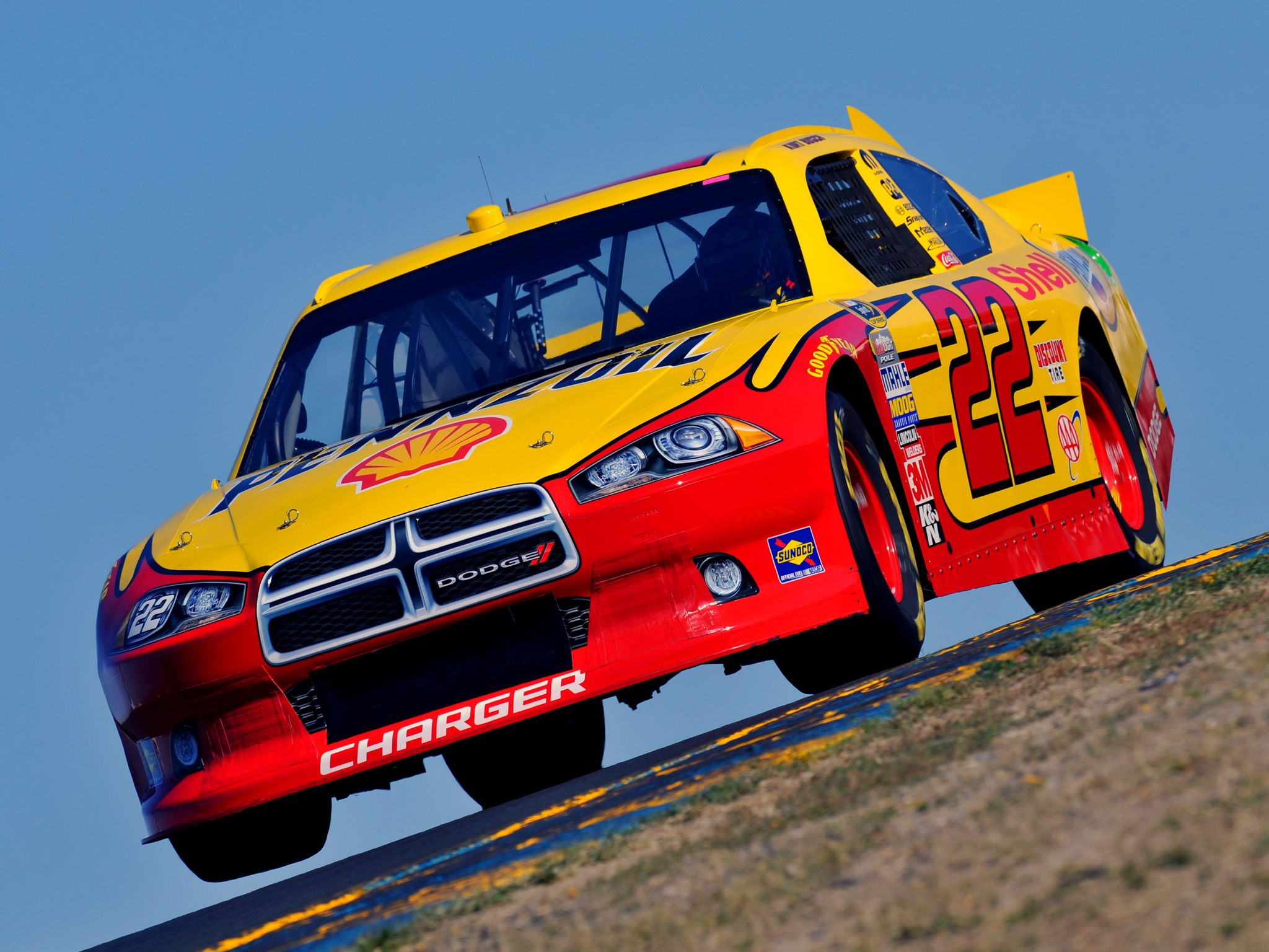 Dodge charger nascar sprint cup series race car 39 2011 hd - Racing cars wallpapers for mobile ...