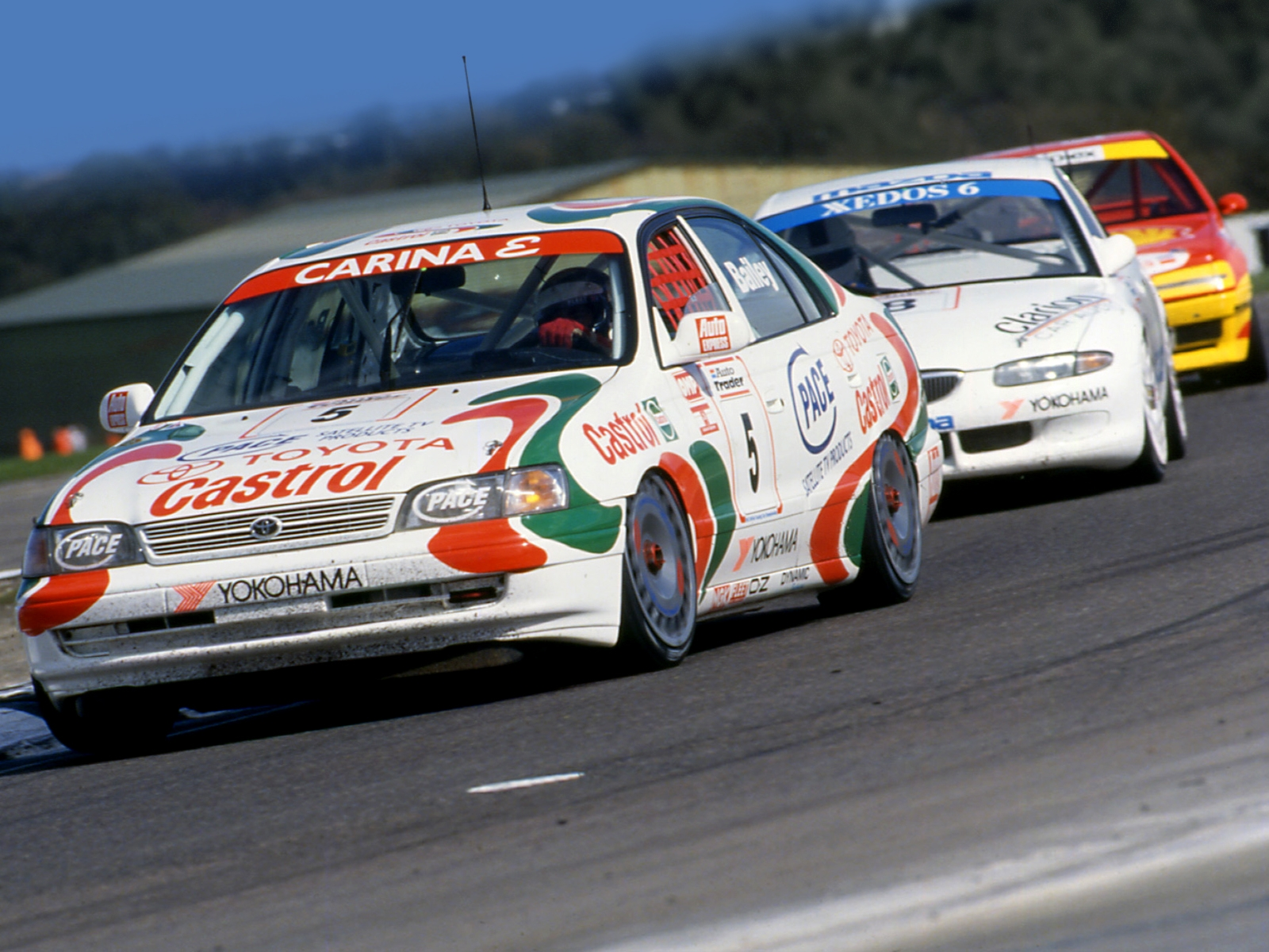 Toyota Carina E Btcc At190 1994 96 Wallpaper And