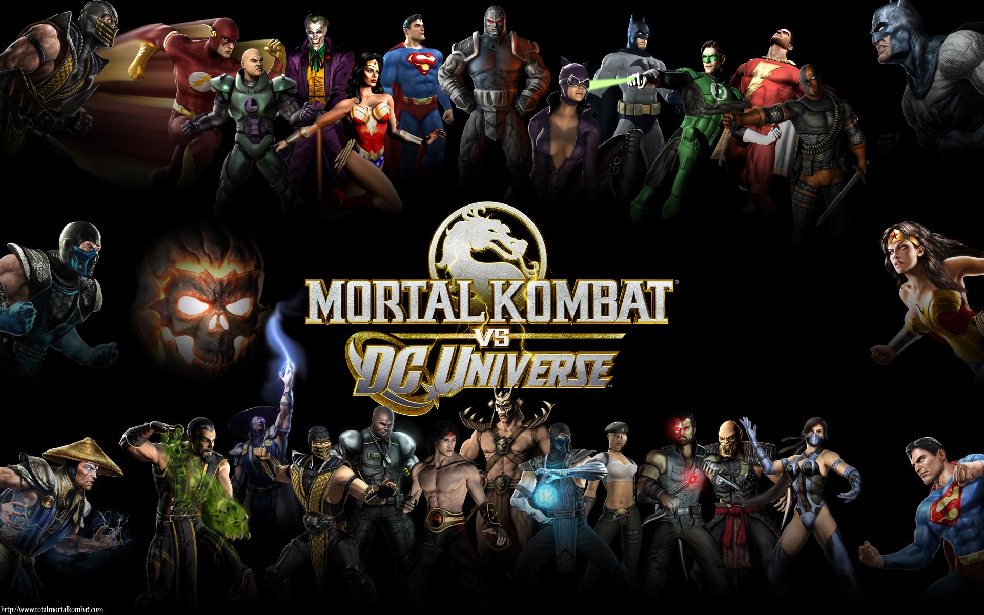 скачать mortal kombat vs dc universe на pc торрент