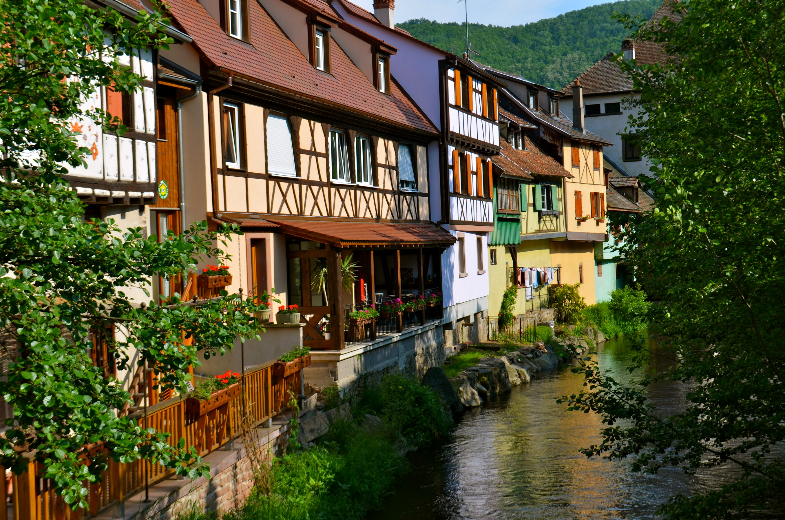 kayersberg in alsace france near colmar computer wallpapers