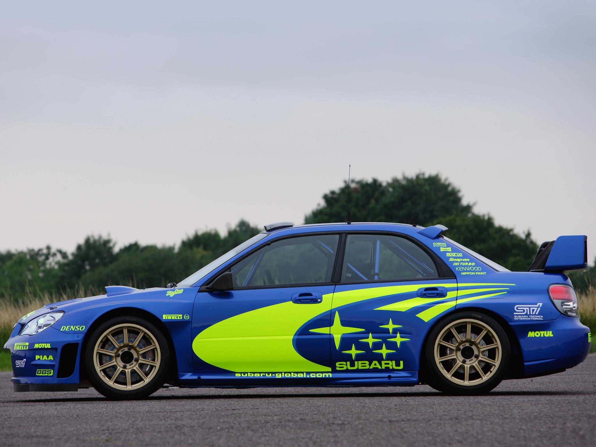 Subaru rally team wallpaper