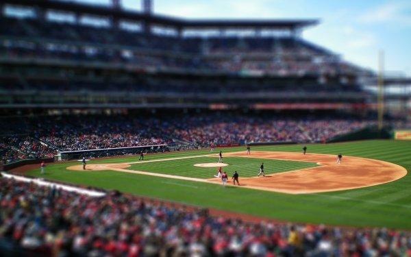 Sports Baseball Tilt Shift HD Wallpaper | Background Image