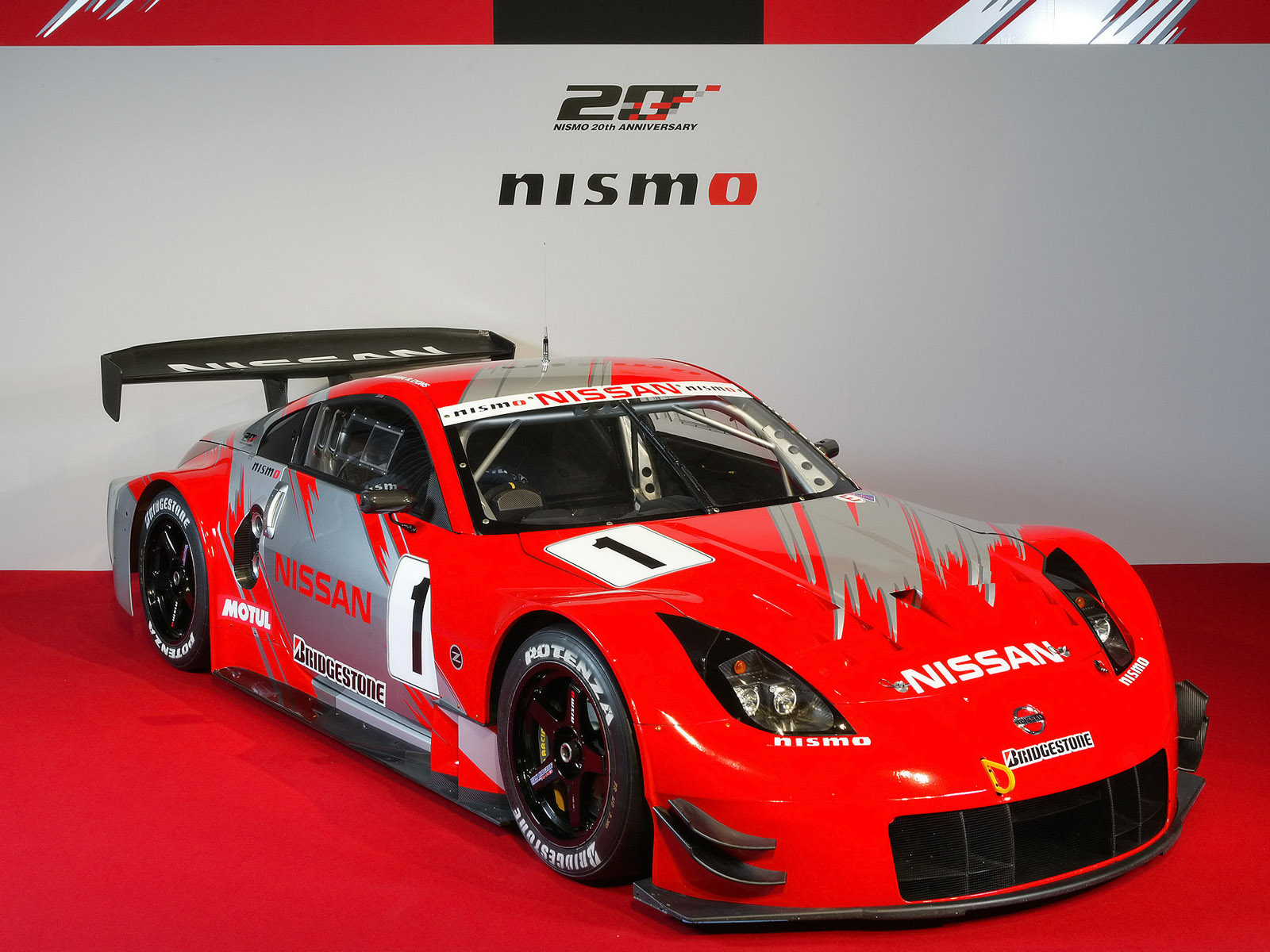 Nissan 350z Nismo Super Gt Z33 2007 08 Wallpaper And