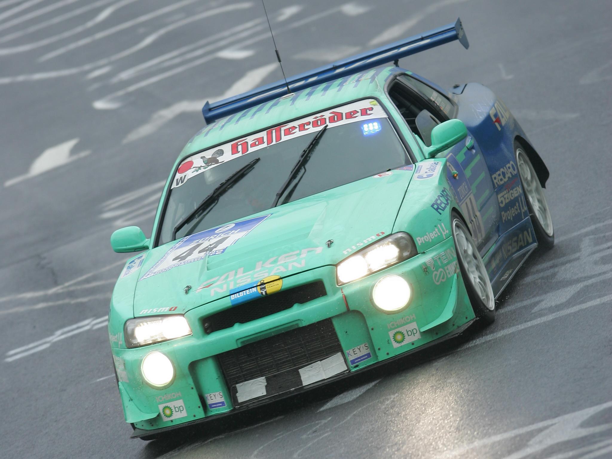 Nissan Skyline GT-R JGTC Race Car (BNR34) '1999–2003 HD Wallpaper