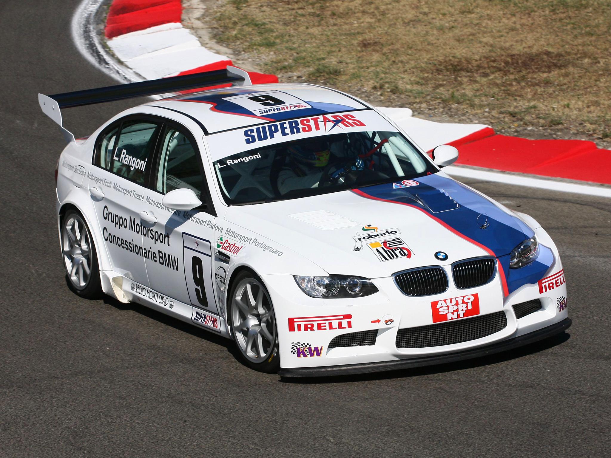 bmw m3 sedan superstars series e90 2008 full hd