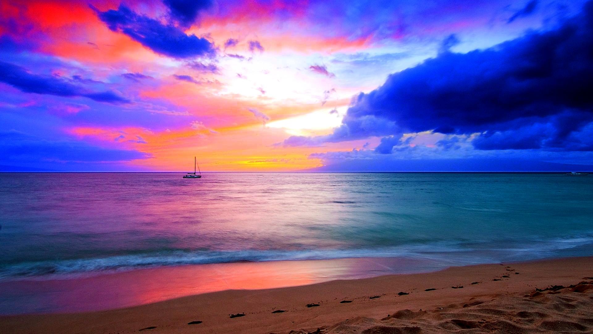 Beach HD Wallpaper   Background Image   1920x1080   ID ...