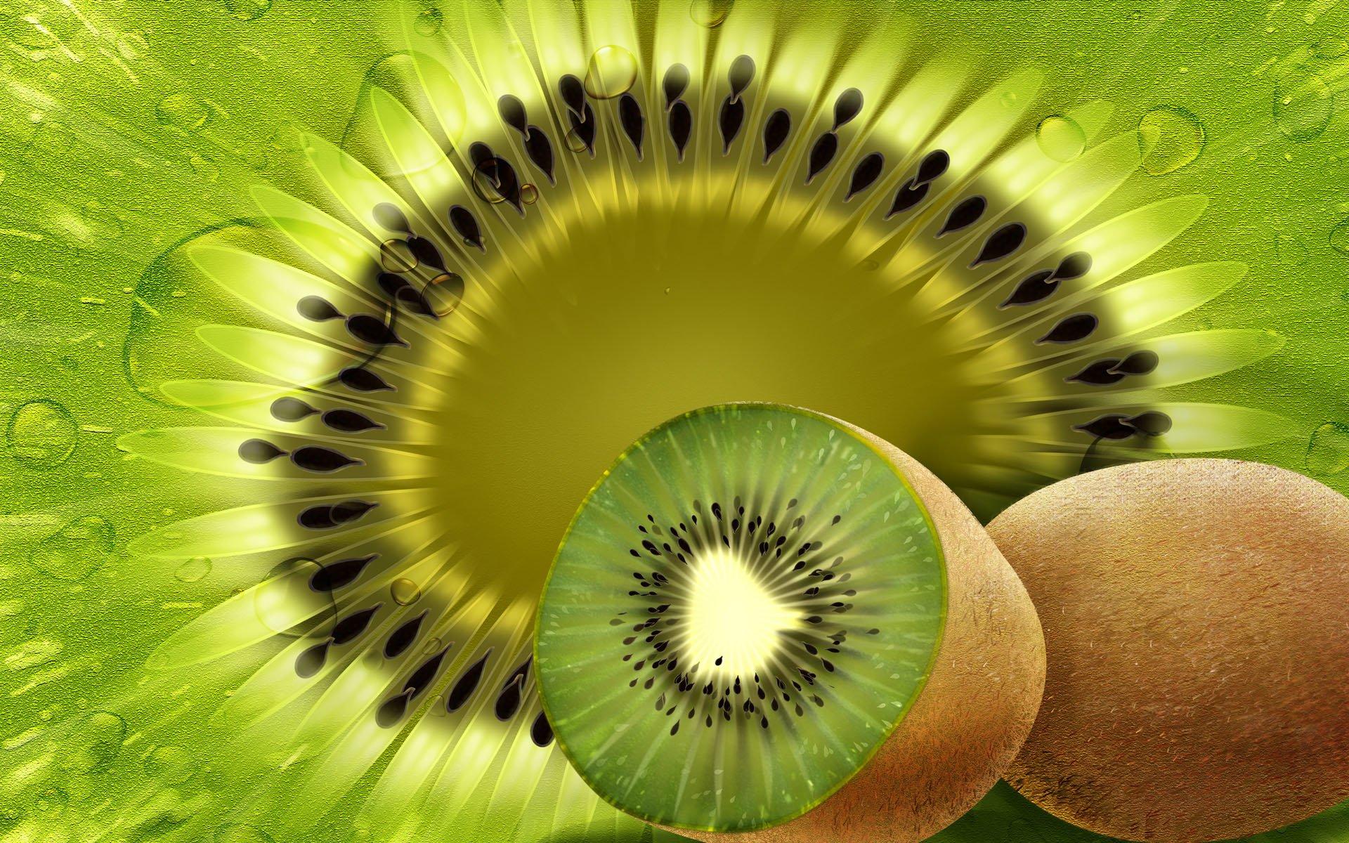 Food - Kiwi  Wallpaper