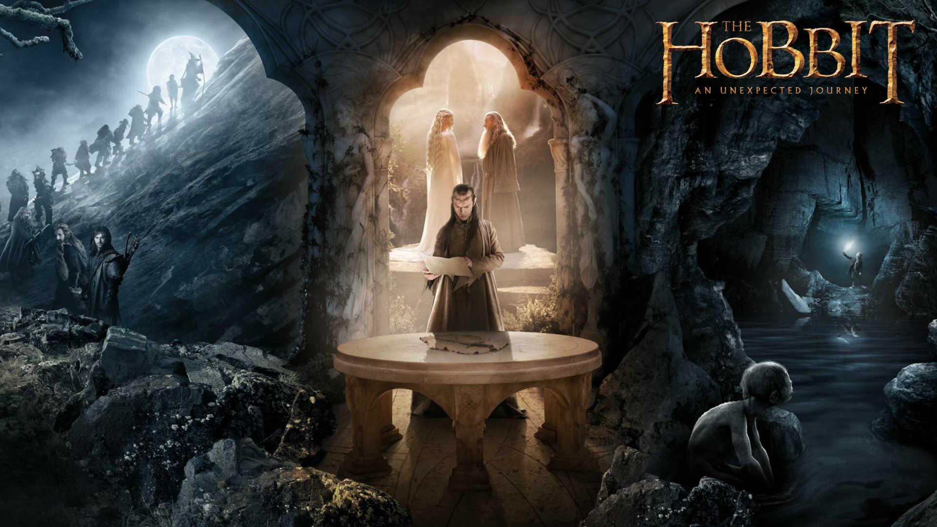 The Hobbit An Unexpected Journey Elves HD desktop wallpaper