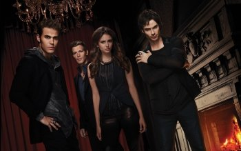 Televisieprogramma - Vampire Diaries Wallpapers and Backgrounds ID : 284052