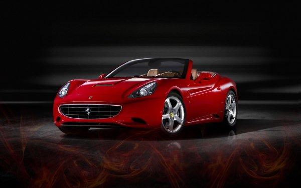 Vehicles Ferrari Red Car Sport Car HD Wallpaper | Background Image