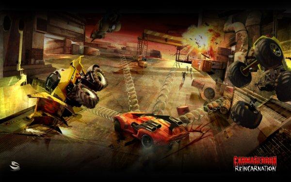 Video Game Carmageddon HD Wallpaper | Background Image