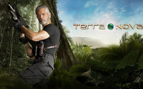 TV Show Terra Nova Stephen Lang Commander Nathaniel Taylor HD Wallpaper   Background Image