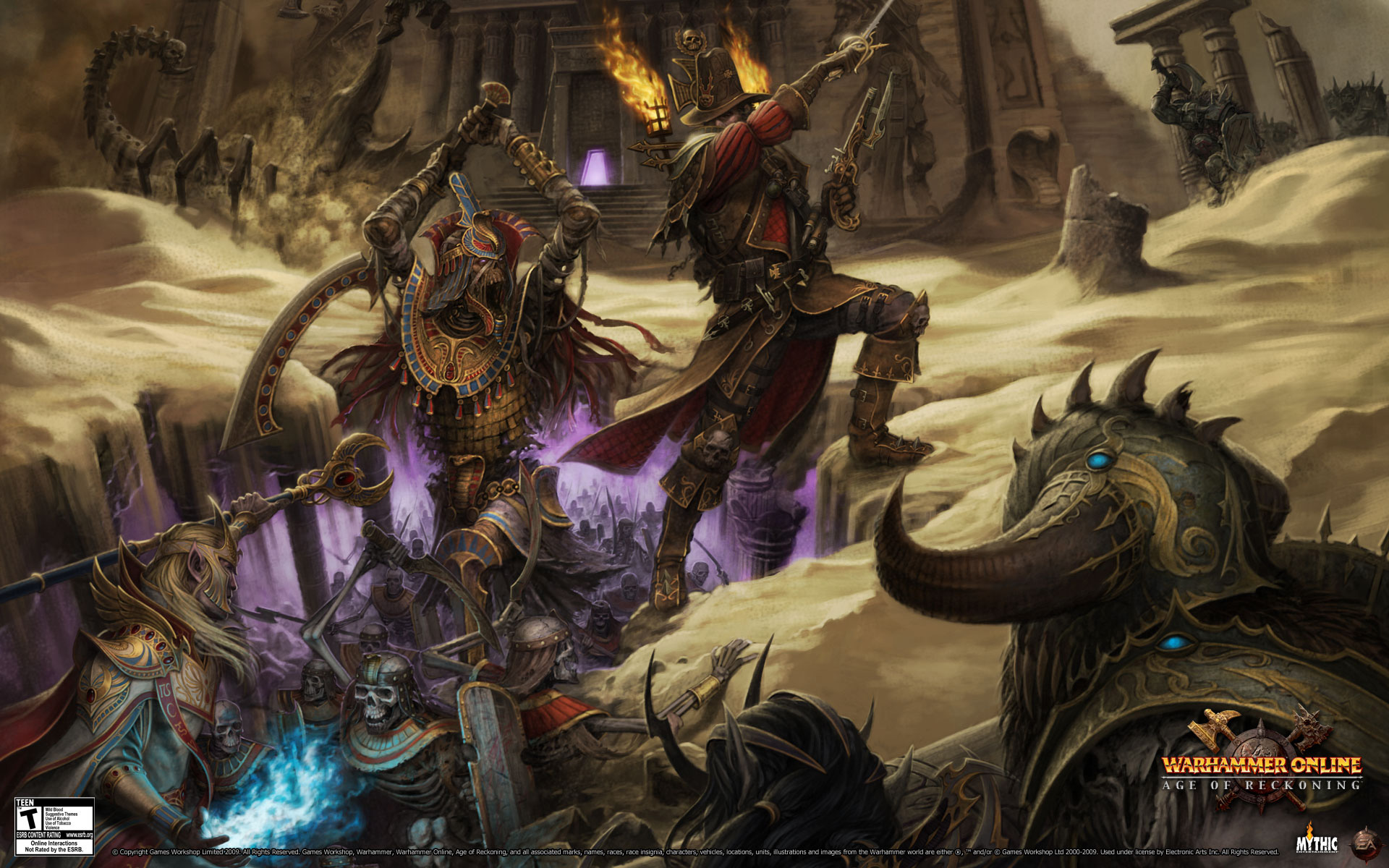 Warhammer Online Age Of Reckoning Full Hd Wallpaper And -8178