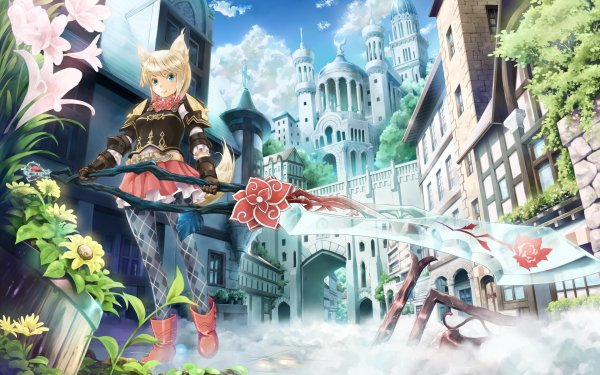 Video Game Fantasy Earth Zero HD Wallpaper   Background Image