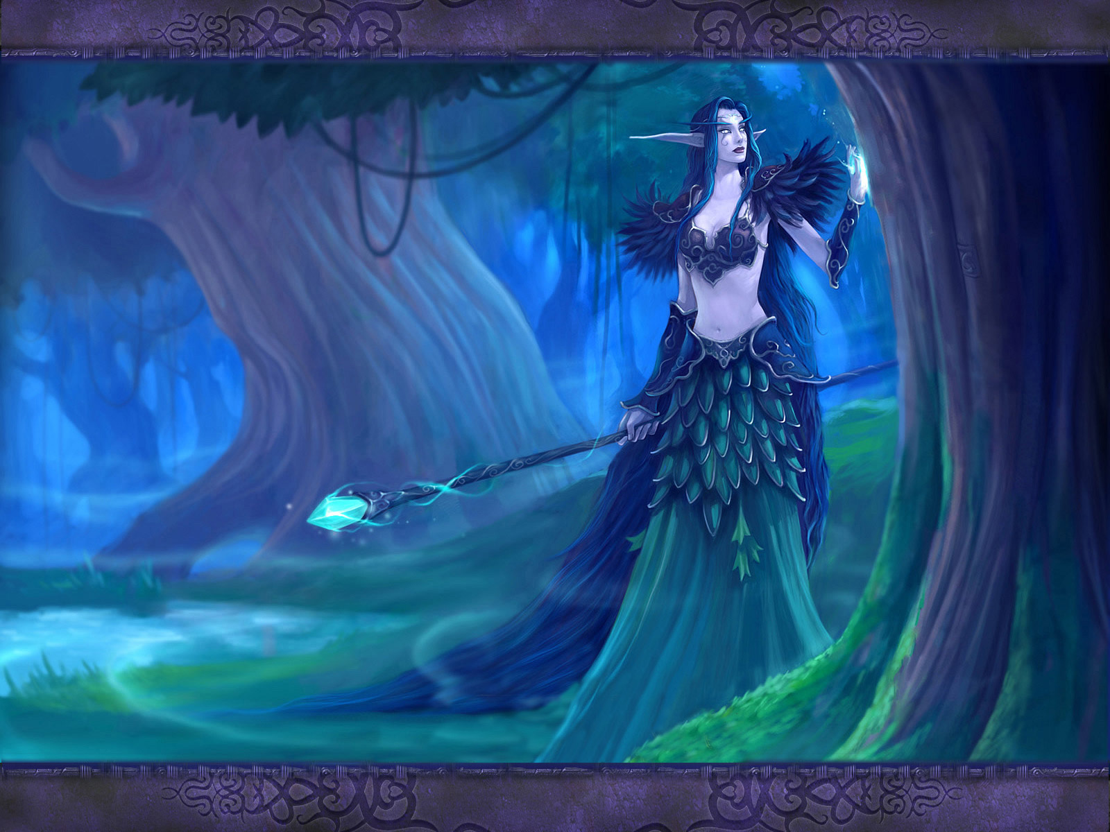 Videojuego - Warcraft  Mage Fondo de Pantalla