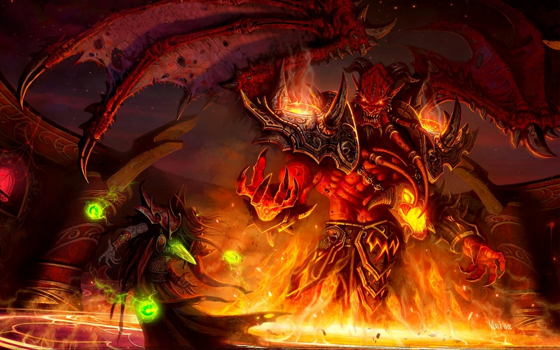4 kil'jaeden (world of warcraft) hd wallpapers | background images