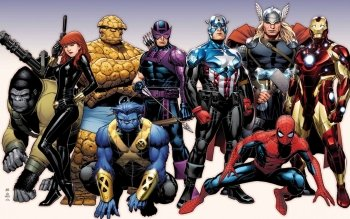 Comics - Marvel Wallpapers and Backgrounds