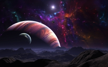Sci Fi - Planet Rise Wallpapers and Backgrounds ID : 286810