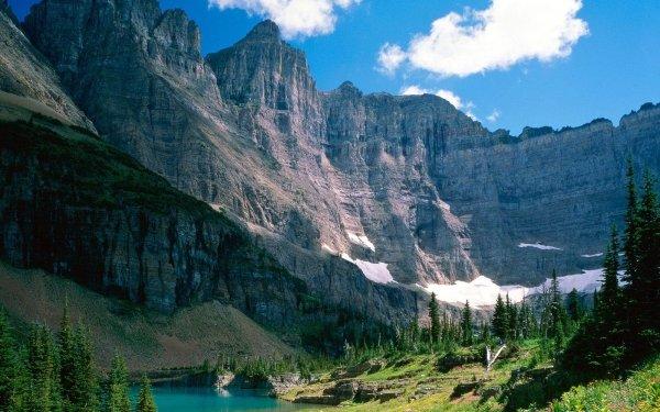 Tierra/Naturaleza Montaña Montañas Cañón Lago Fondo de pantalla HD | Fondo de Escritorio