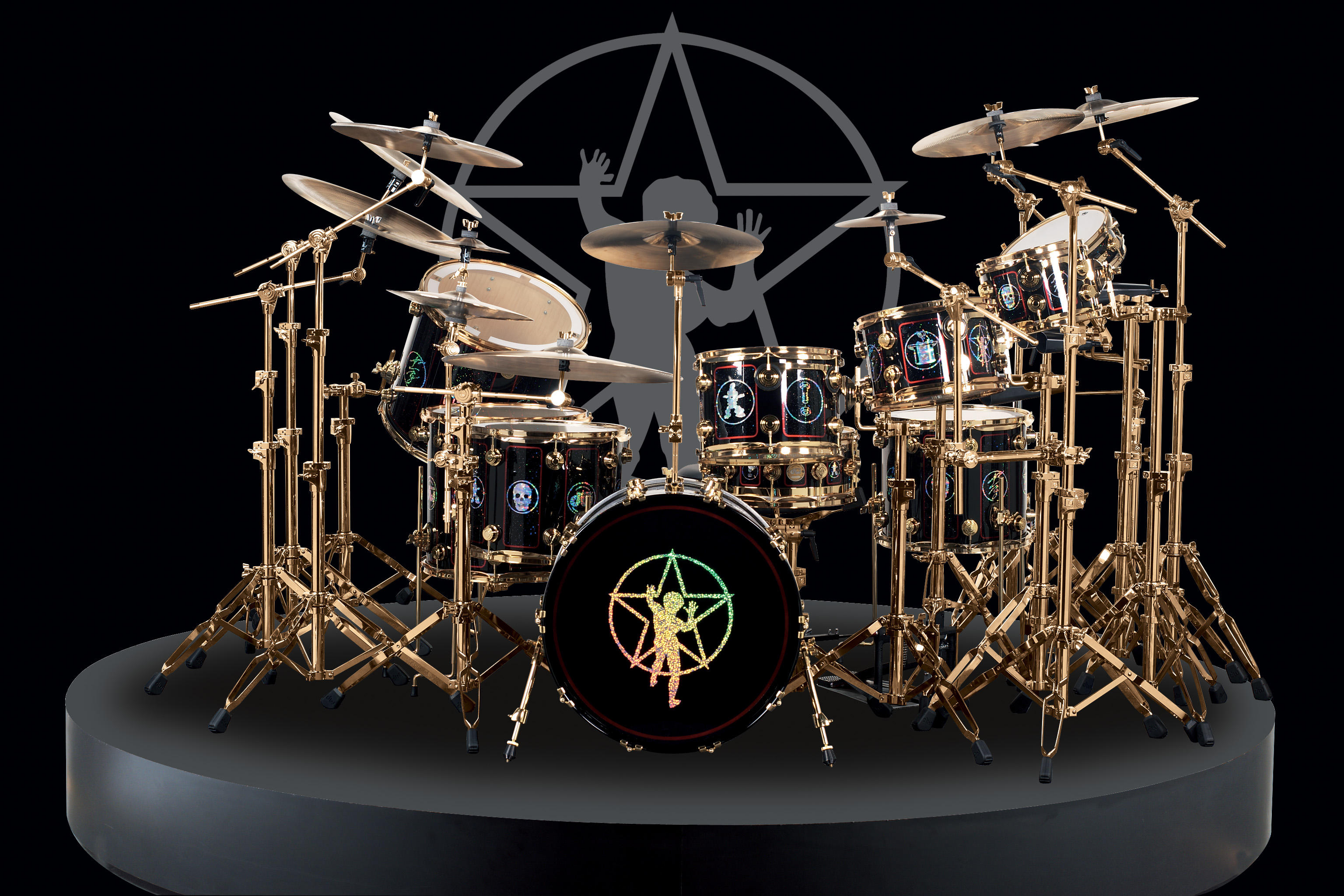 Musik - Drums  Bakgrund