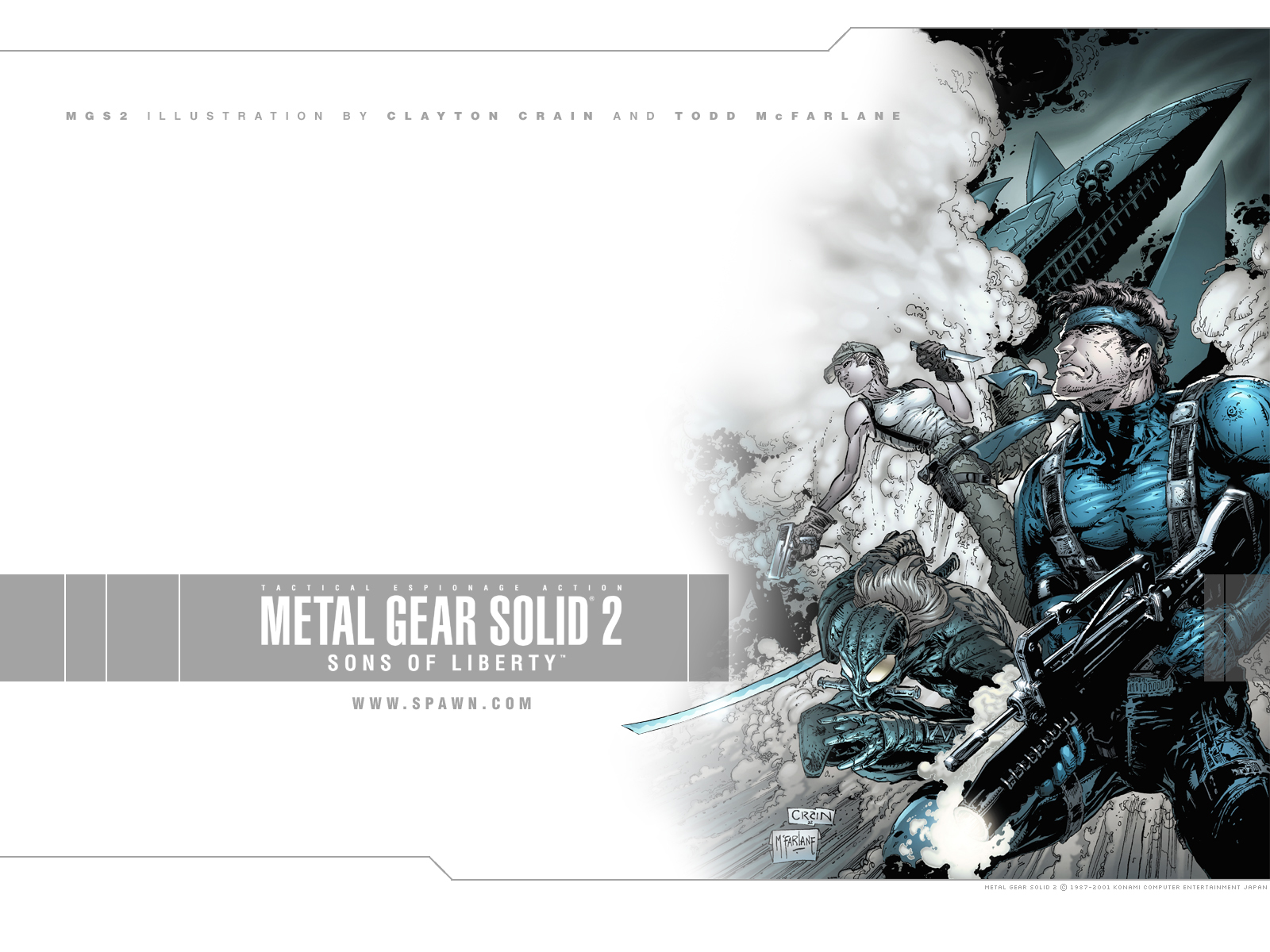 Metal Gear Solid 2 Wallpaper: Metal Gear Solid 2: Sons Of Liberty Wallpaper And