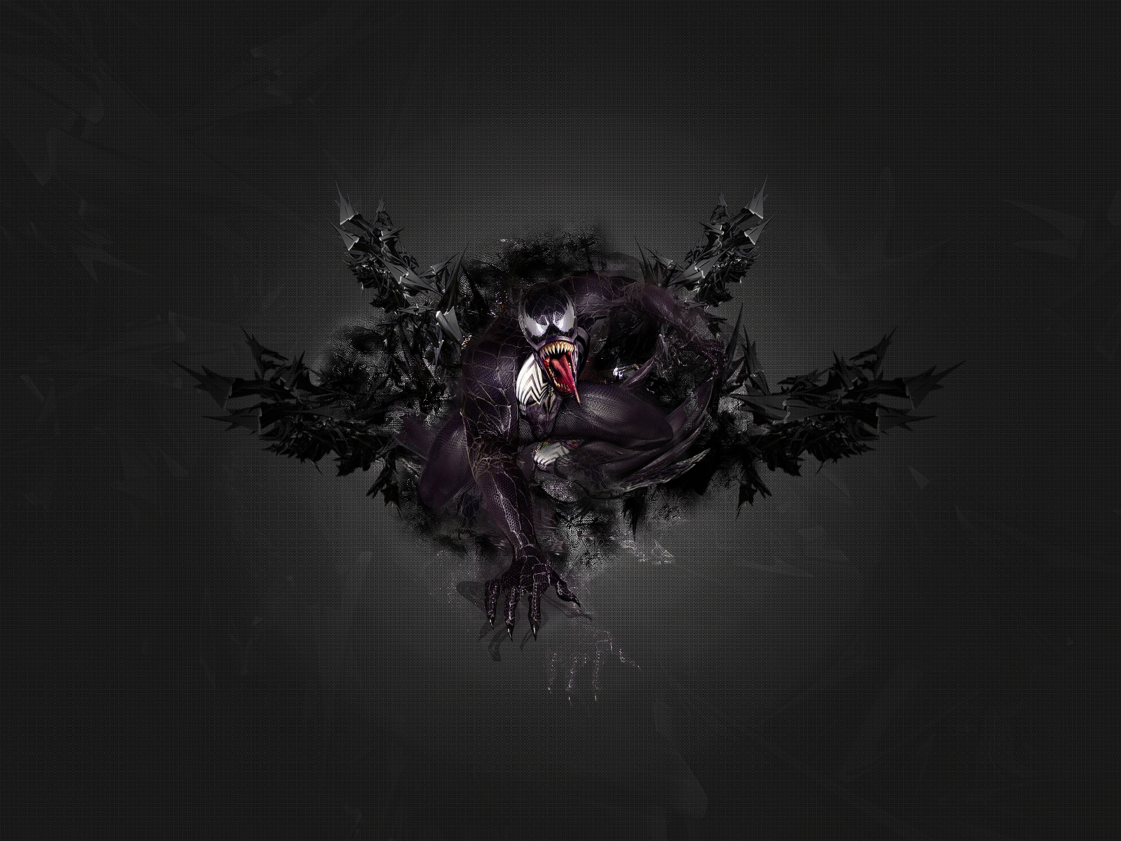 Venom wallpaper and background image 1600x1200 id31702 comics venom wallpaper voltagebd Image collections