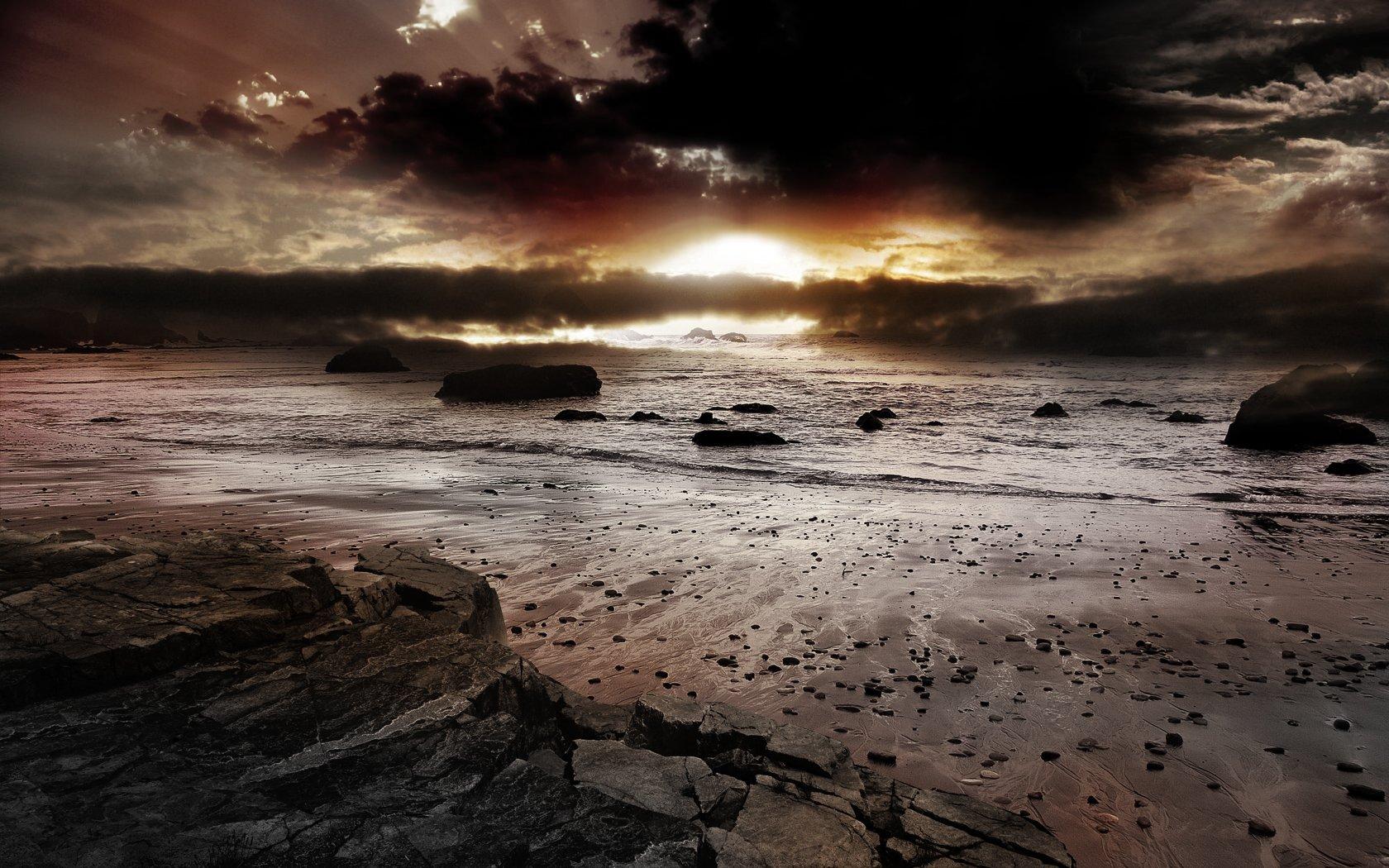 Terra/Natura - Oceani  Sfondo