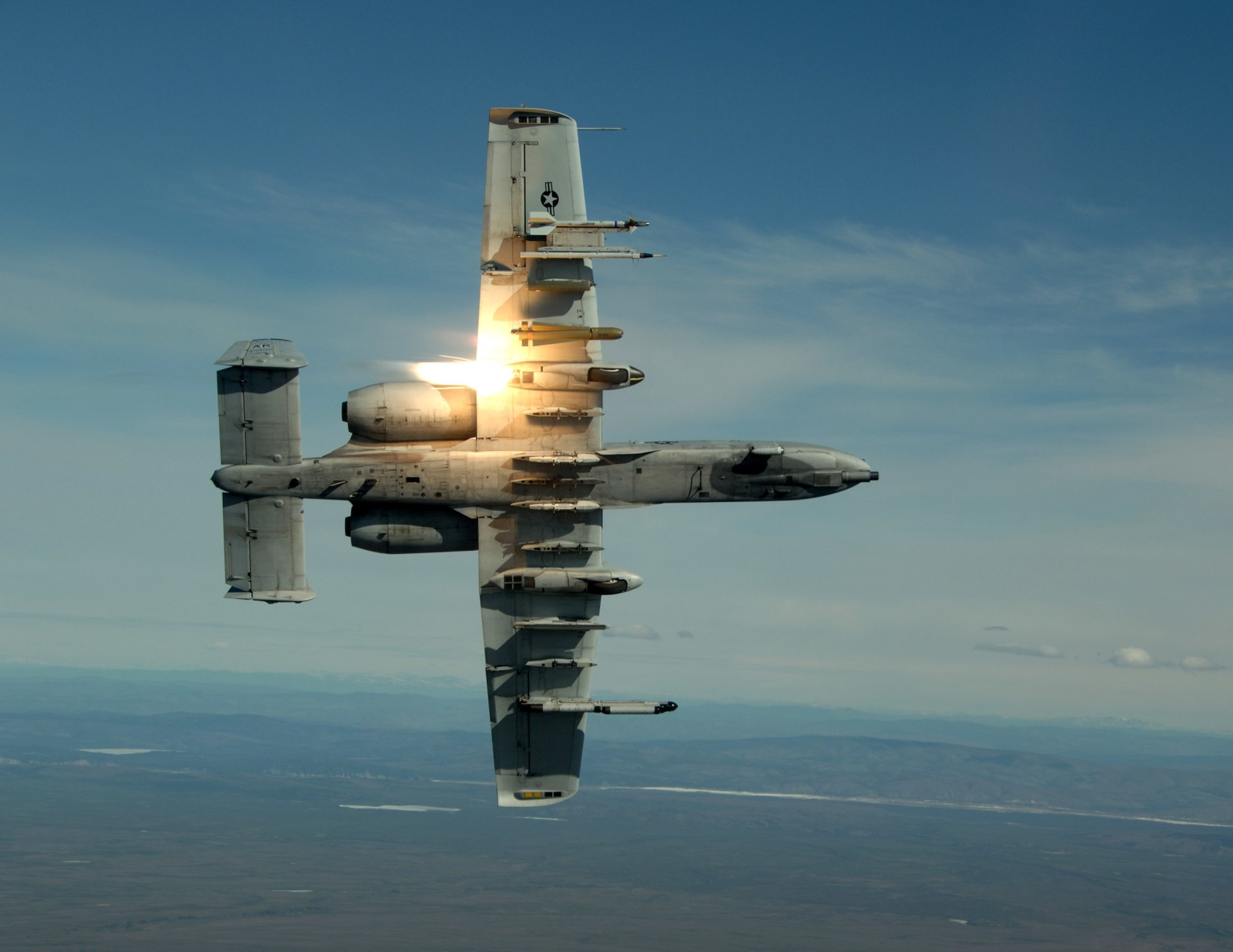 Military - Fairchild Republic A-10 Thunderbolt II  Military Vehicle Airplane Aircraft Wallpaper