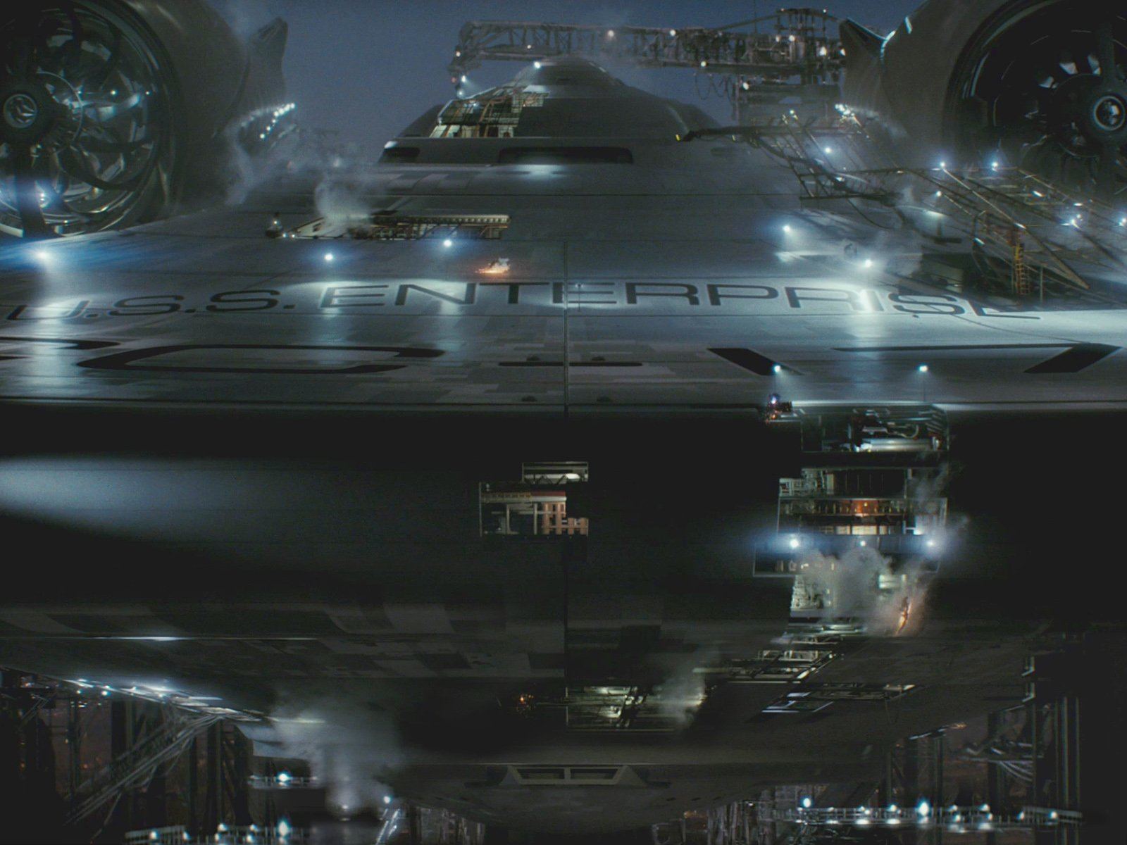 Movie - Star Trek  USS Enterprise NCC-1701 Wallpaper