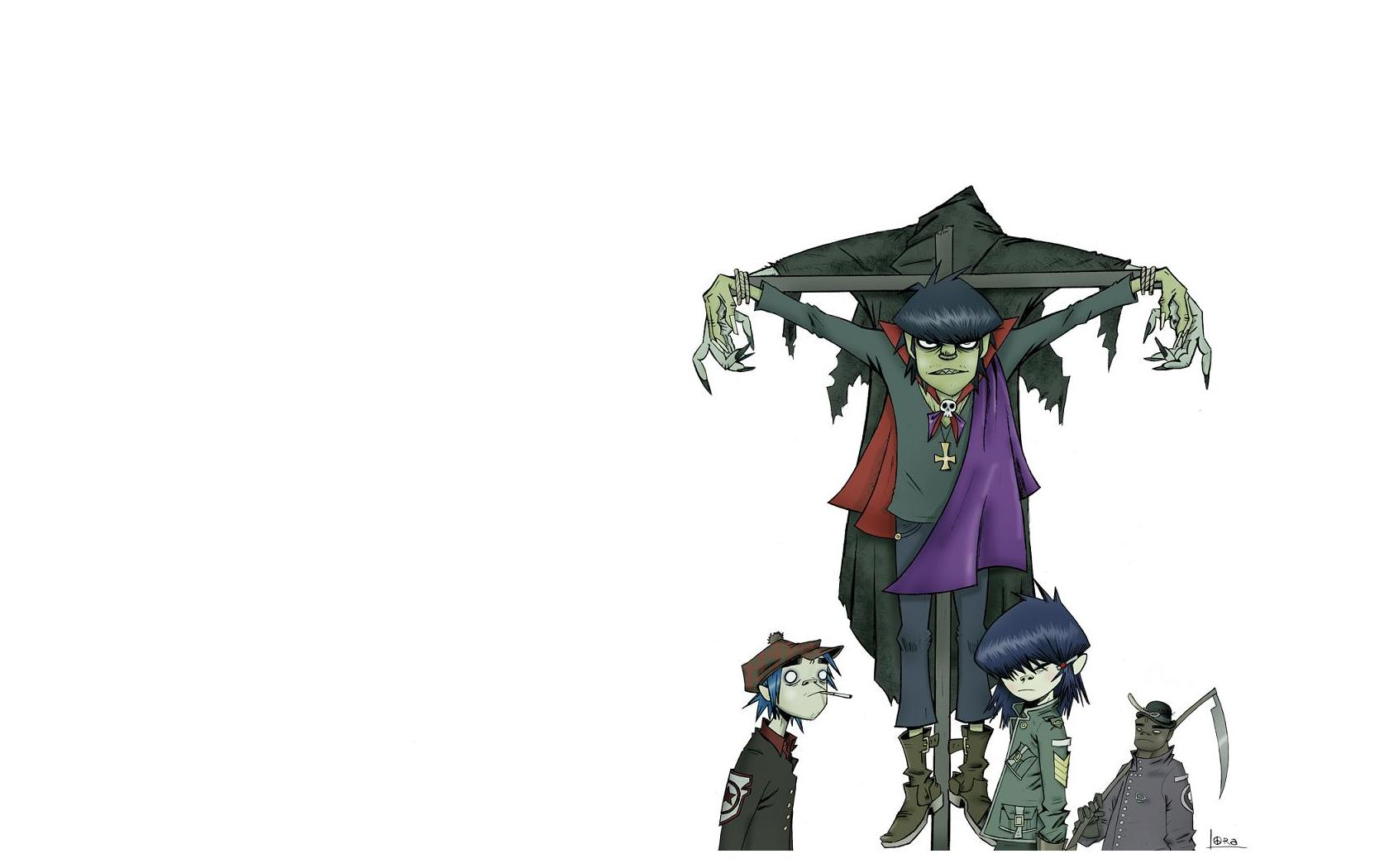 download wallpaper gorillaz desktop - photo #49
