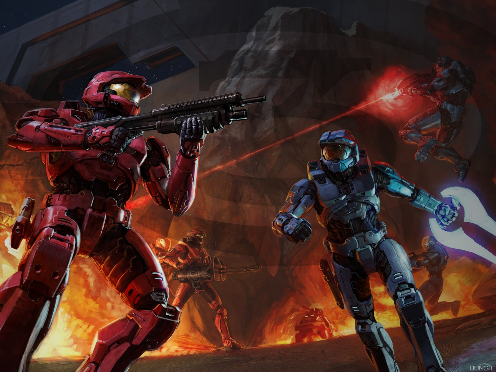 16 halo 3 hd wallpapers | background images - wallpaper abyss