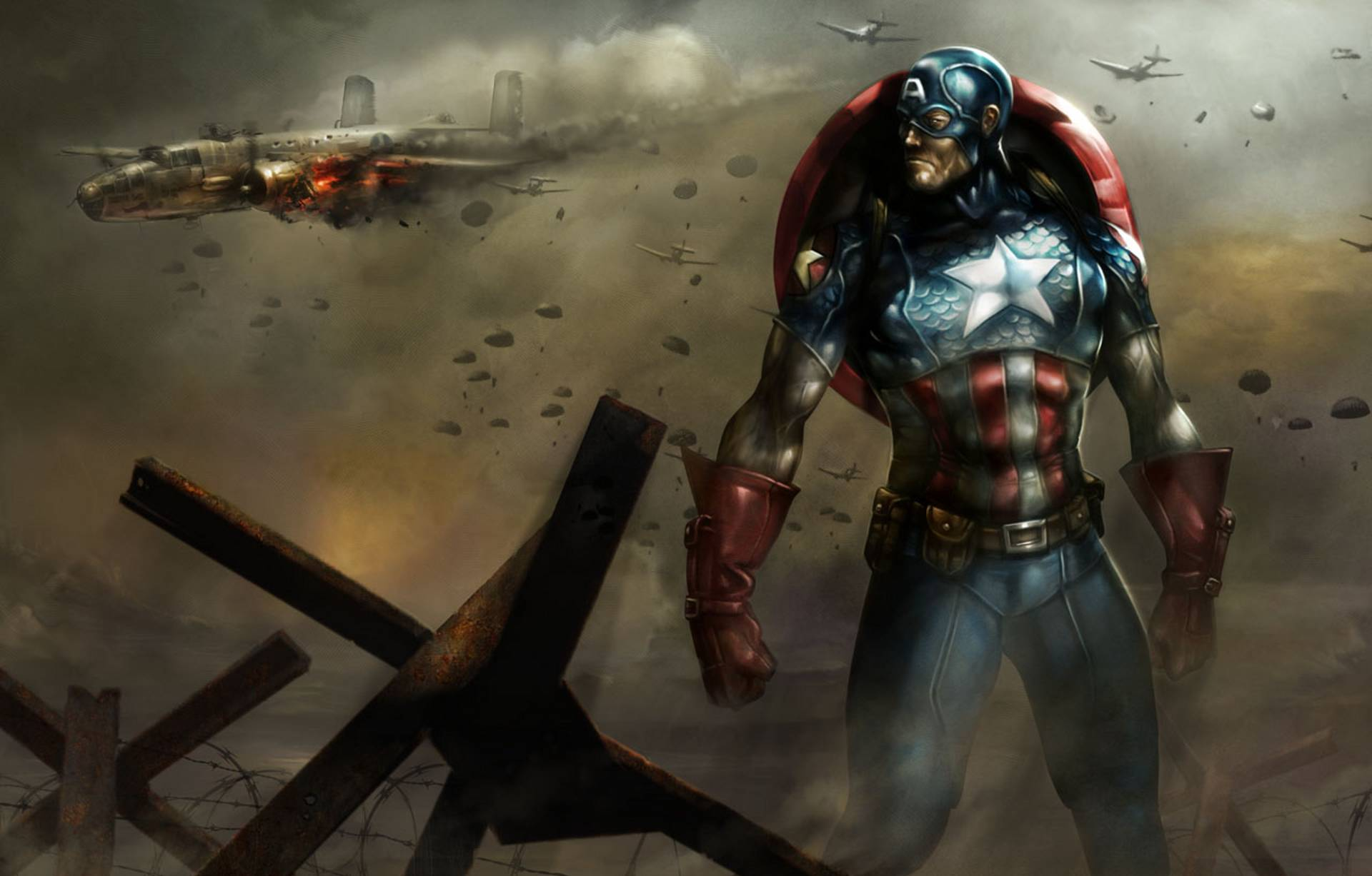 Captain Marvel Fantasy Art Wallpapers Hd Desktop And: 256 Captain America HD Wallpapers