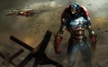 Comics - Captain America Wallpapers and Backgrounds ID : 40120