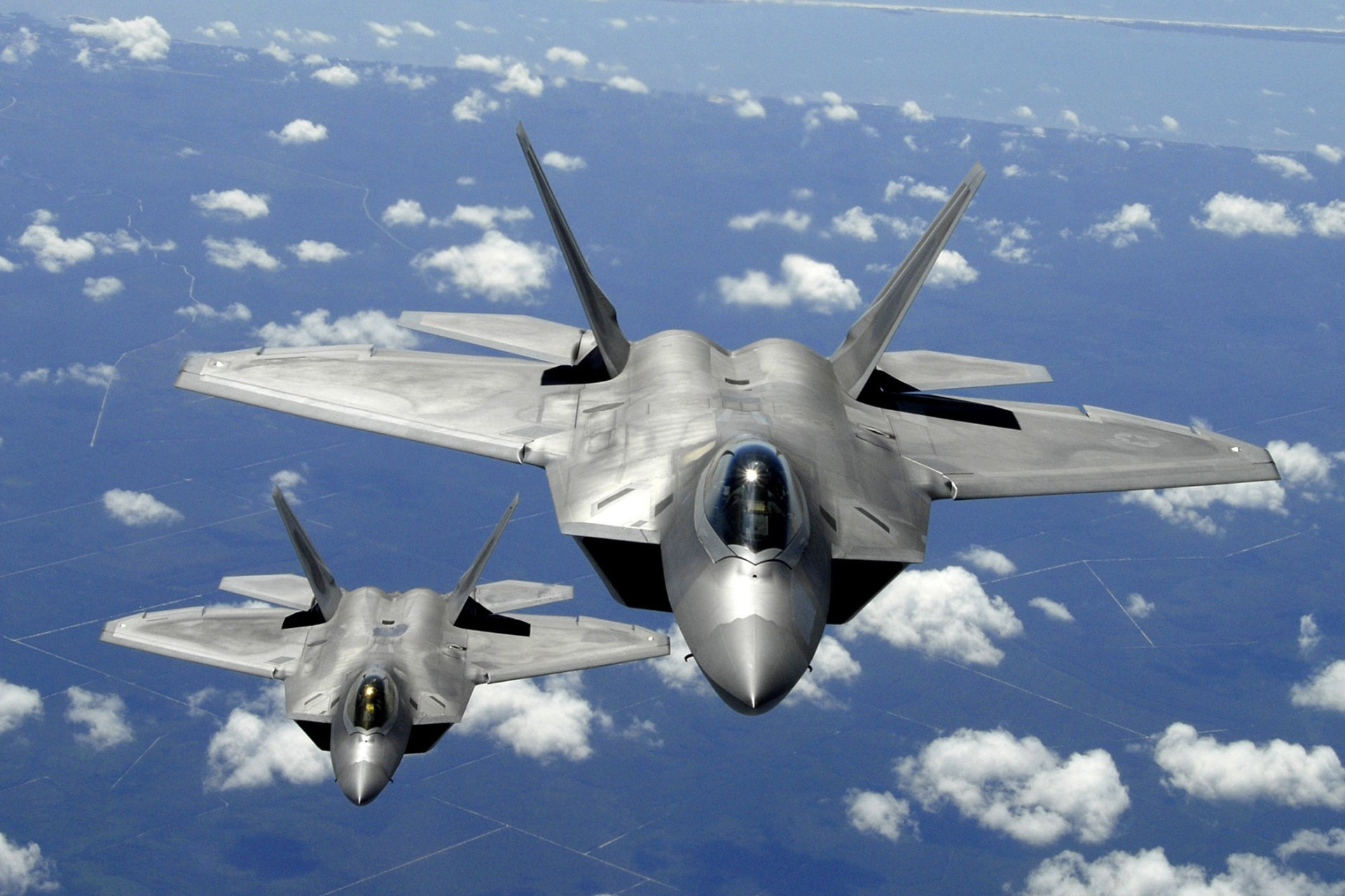 Military - Lockheed Martin F-22 Raptor  USAF Wallpaper