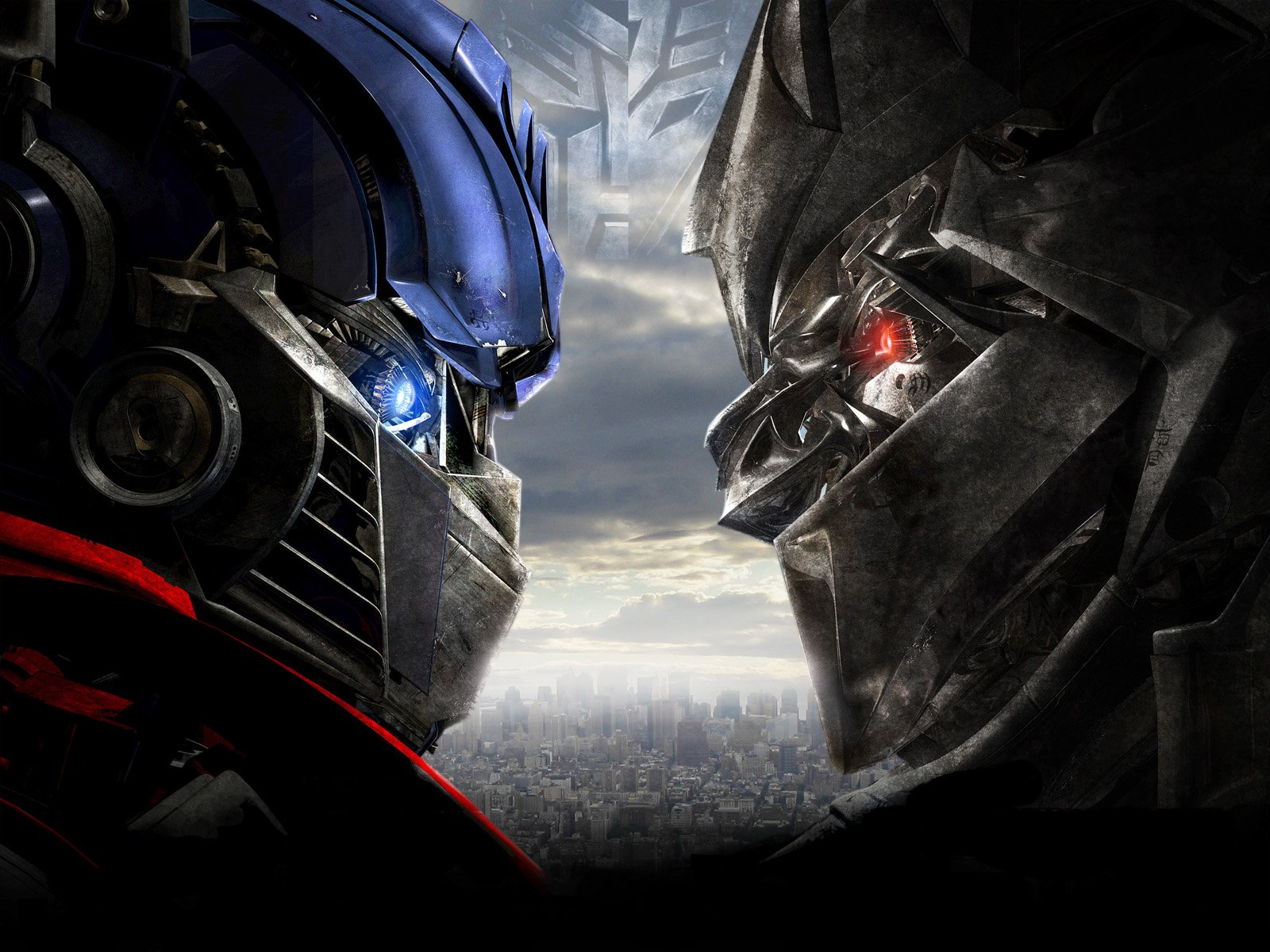 Films - Transformers  Optimus Prime Megatron Wallpaper
