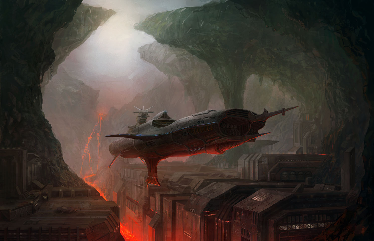 Spaceship wallpaper and background image 1500x968 id - Spaceship wallpaper ...