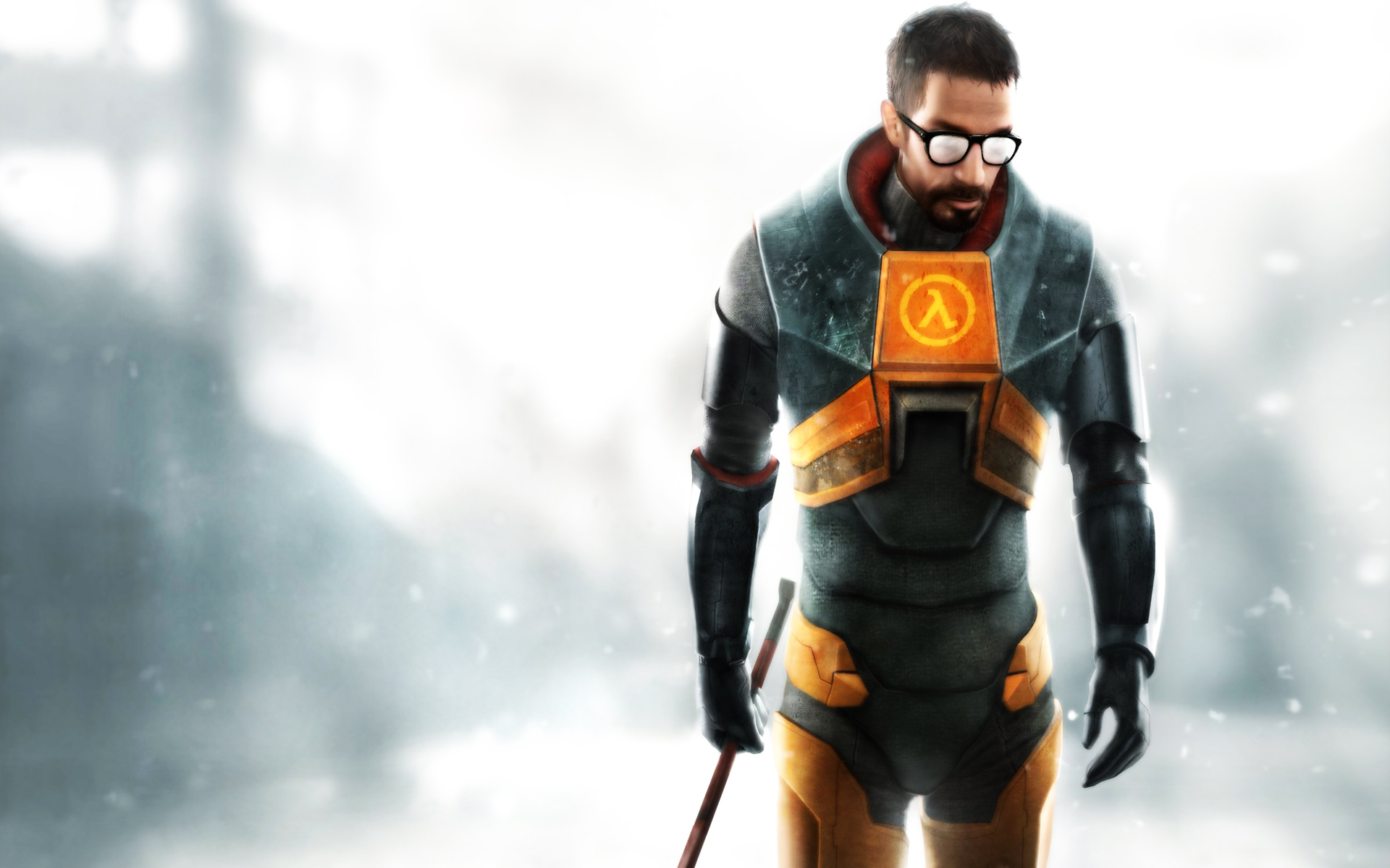 Video Game - Half-life  Red Abstract Wallpaper