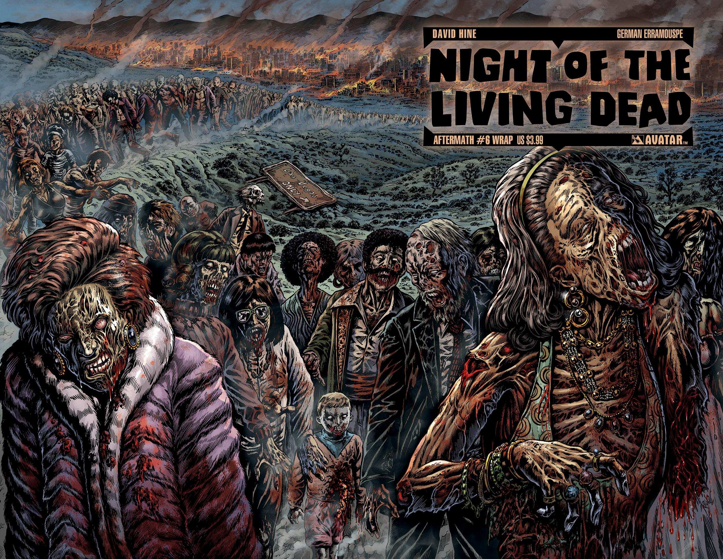 Night Of The Living Dead Aftermath Fondo De Pantalla Hd