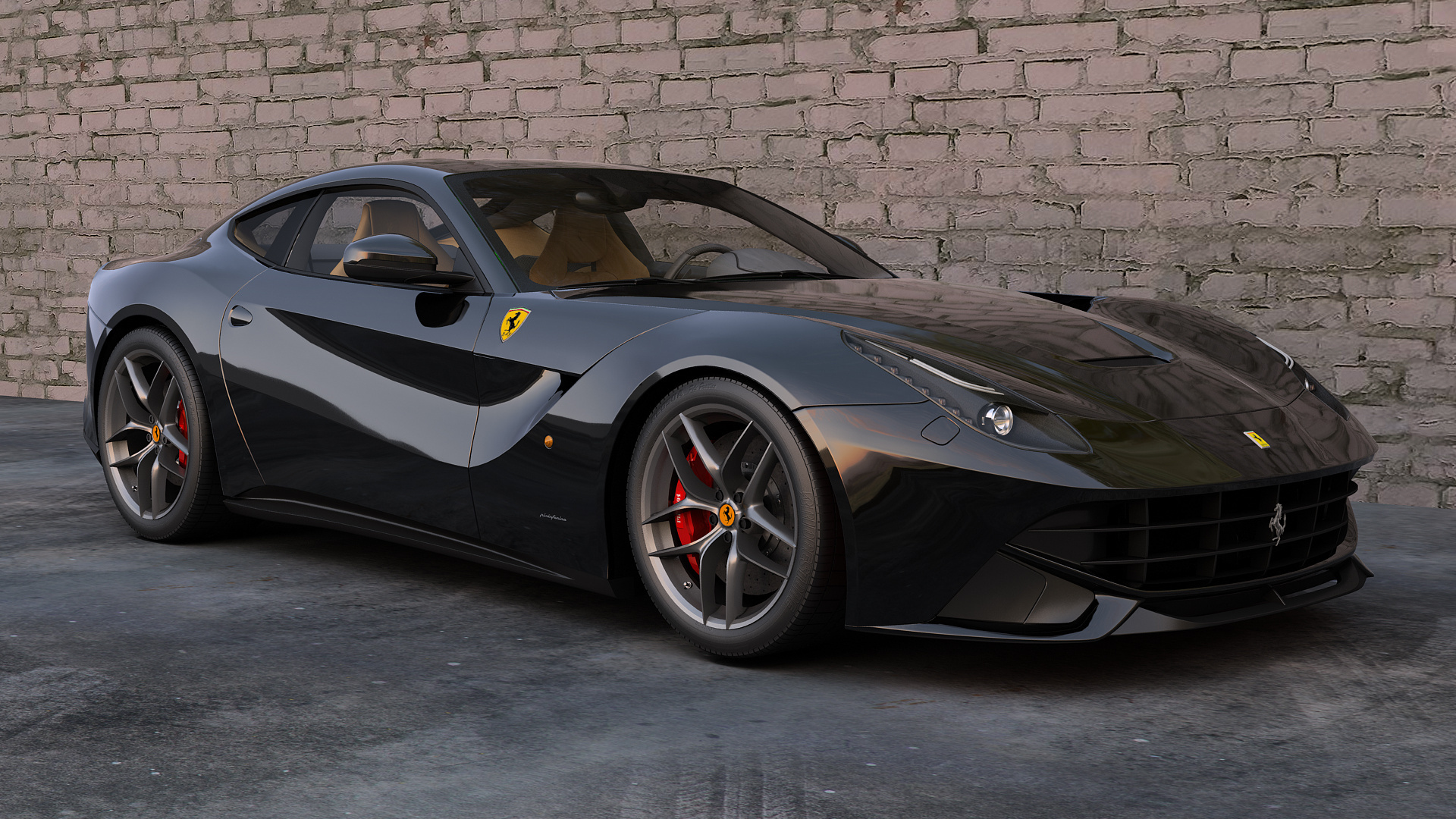 Ferrari F12berlinetta Full Hd Wallpaper And Background