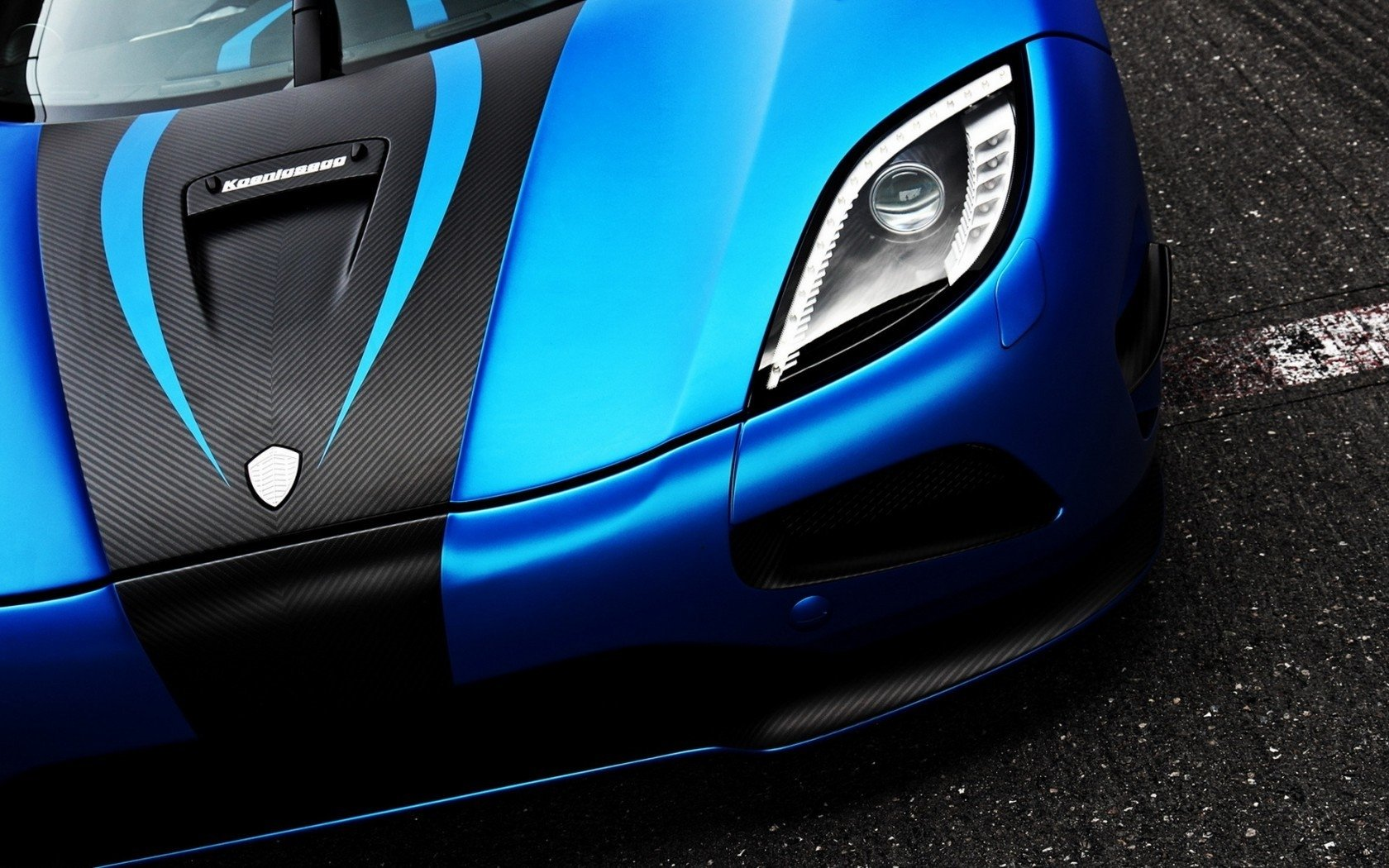 Vehicles - Koenigsegg Agera  Koenigsegg Agera R Sport Car Koenigsegg Vehicle Car Blue Car Wallpaper