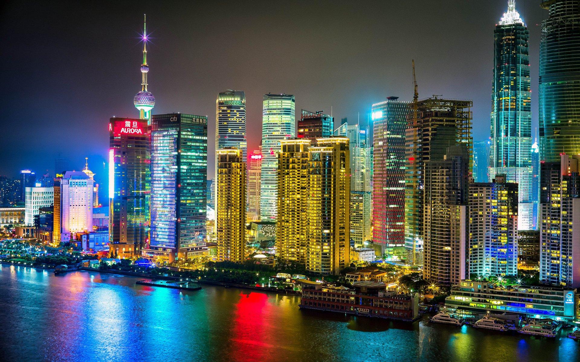 THE BUND, SHANGHAI, CHINA HD Wallpaper