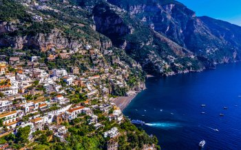 Man Made - Positano Wallpapers and Backgrounds ID : 435042