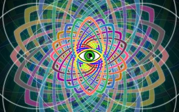 Abstrakt - Phycedelic Eye Wallpapers and Backgrounds ID : 435750