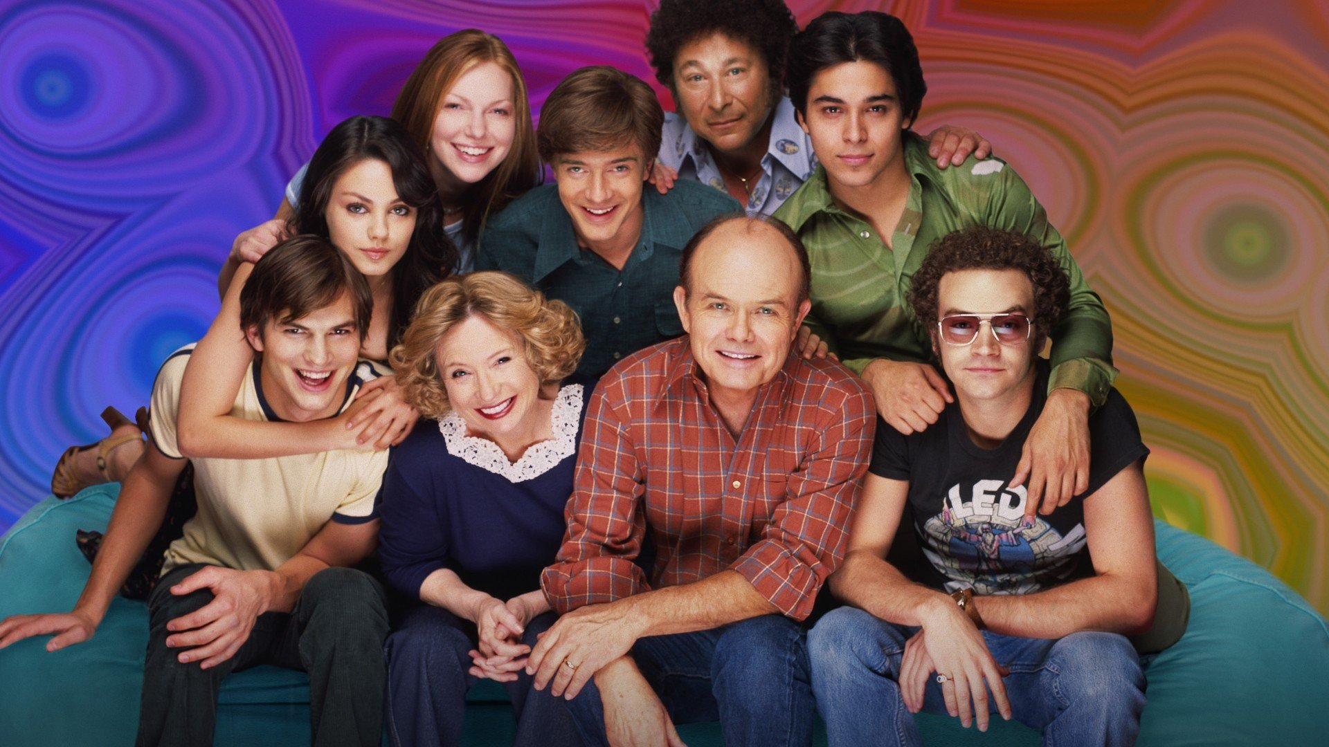 TV Show - That '70s Show  That 70's Show Danny Masterson Steven Hyde Laura Prepon Donna Pinciotti Kurtwood Smith Red Forman Debra Jo Rupp Kitty Forman Ashton Kutcher Wallpaper
