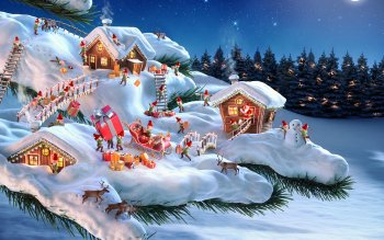 Holiday - Christmas Wallpapers and Backgrounds ID : 436426