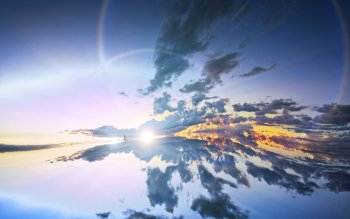 Earth - Reflection Wallpapers and Backgrounds ID : 437312