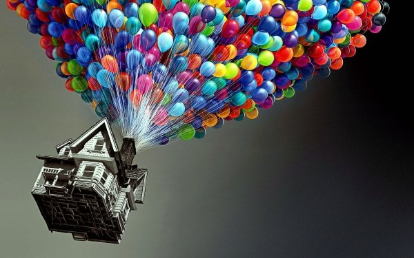 Movie Up Balloon HD Wallpaper | Background Image