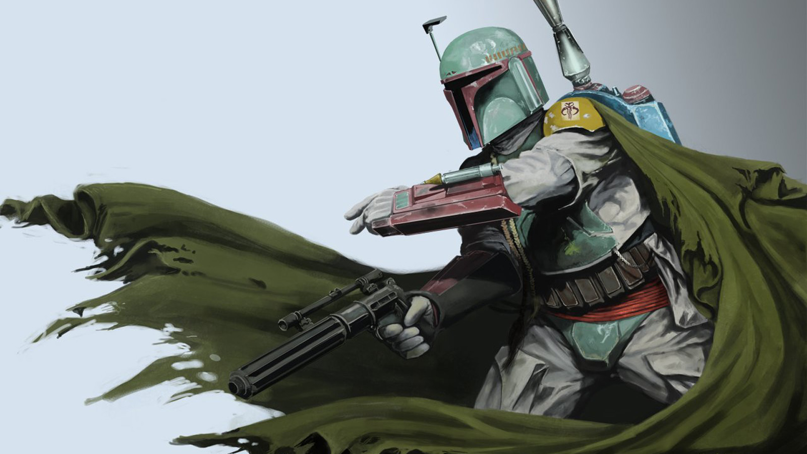boba fett is a mandalorian warrior and bounty hunter wallpaper and background image 1600x900. Black Bedroom Furniture Sets. Home Design Ideas