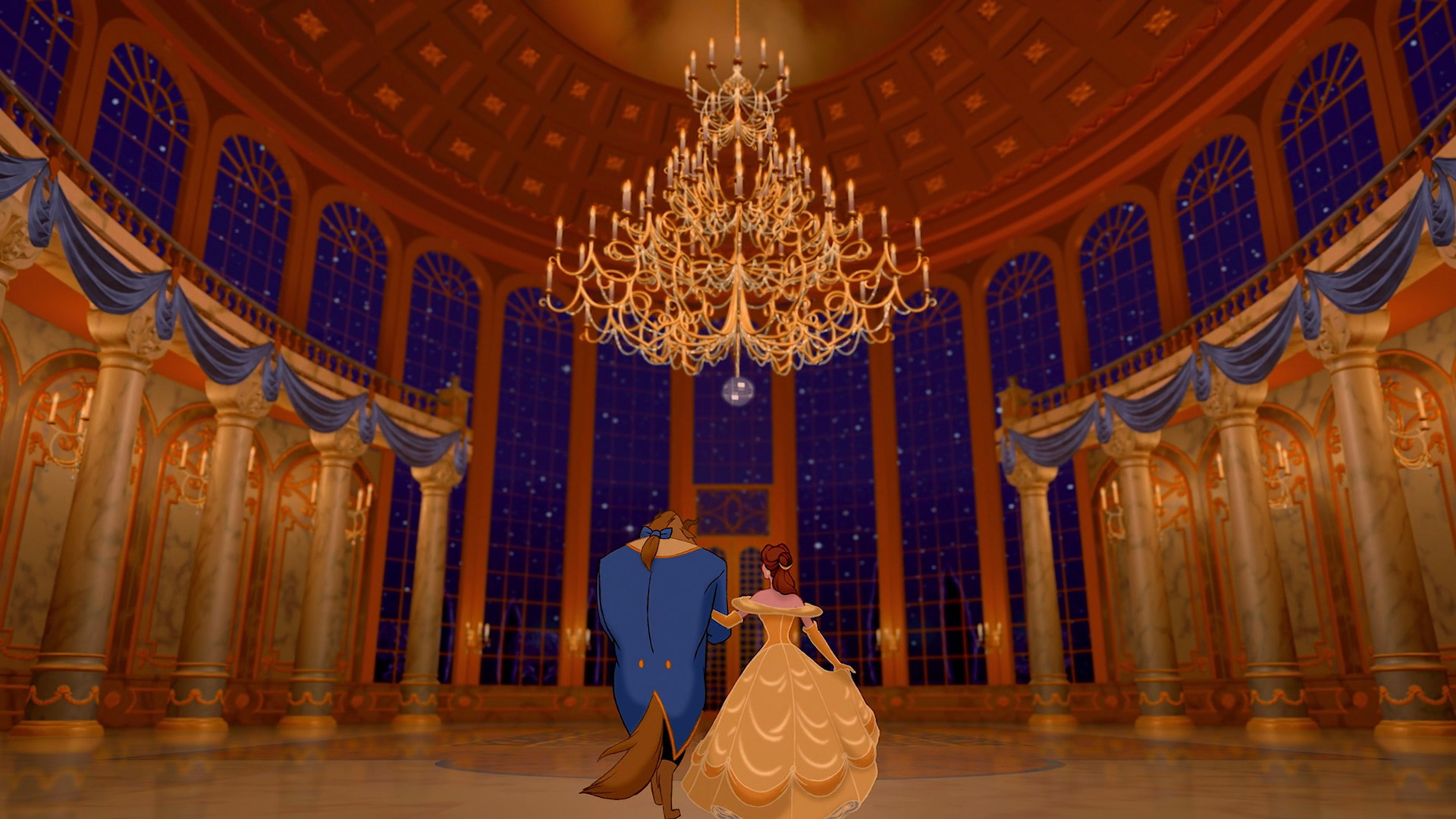 Beauty And The Beast Full HD Wallpaper Hintergrund