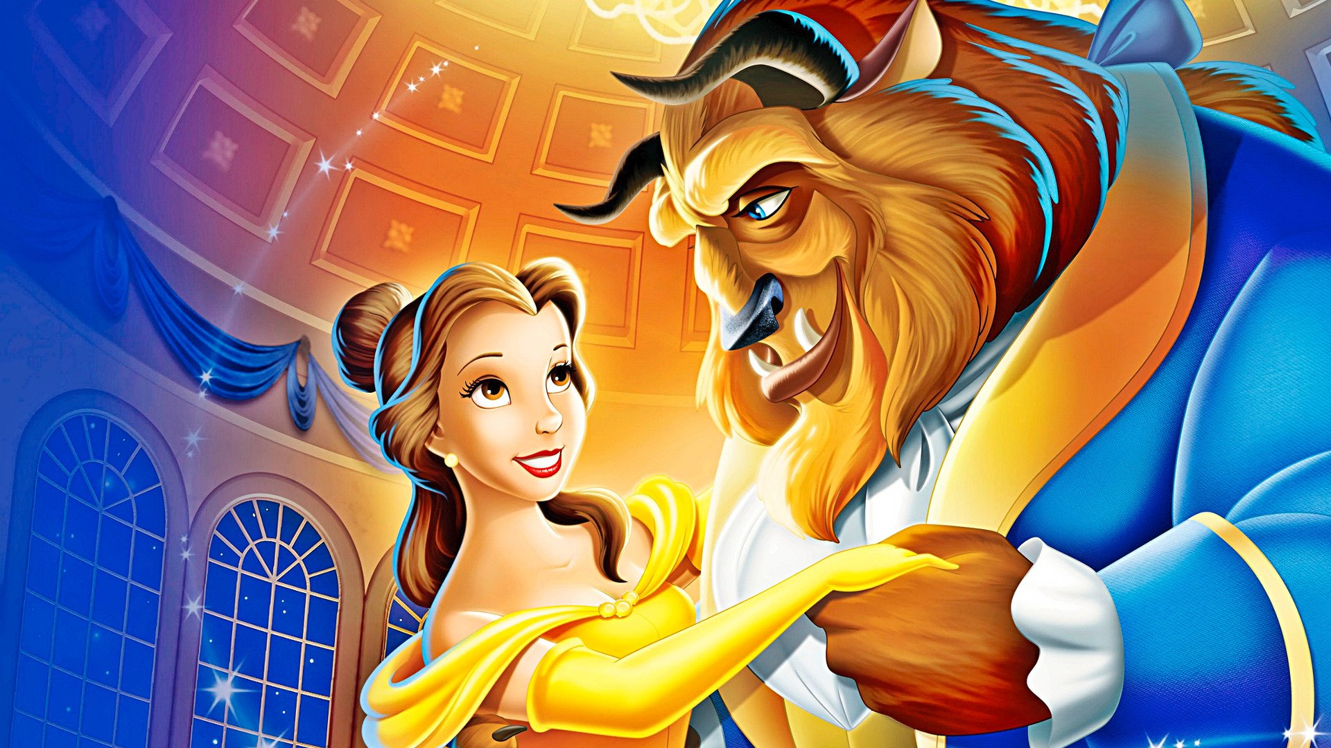Beauty And The Beast 1991 Hd Wallpaper Background Image